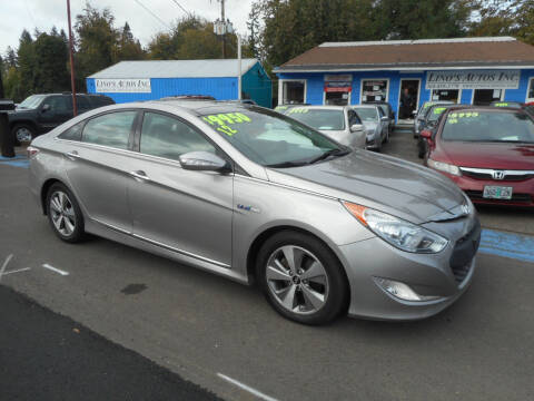 2012 Hyundai Sonata Hybrid for sale at Lino's Autos Inc in Vancouver WA