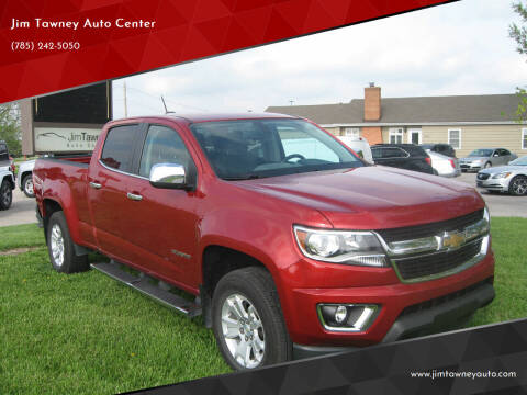 2015 Chevrolet Colorado for sale at Jim Tawney Auto Center Inc in Ottawa KS