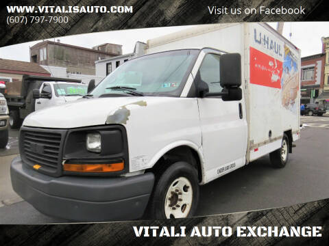 2008 GMC Savana Cutaway for sale at VITALI AUTO EXCHANGE in Johnson City NY