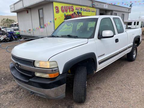 2001 Chevrolet Silverado 2500HD for sale at 3 Guys Auto Sales LLC in Phoenix AZ