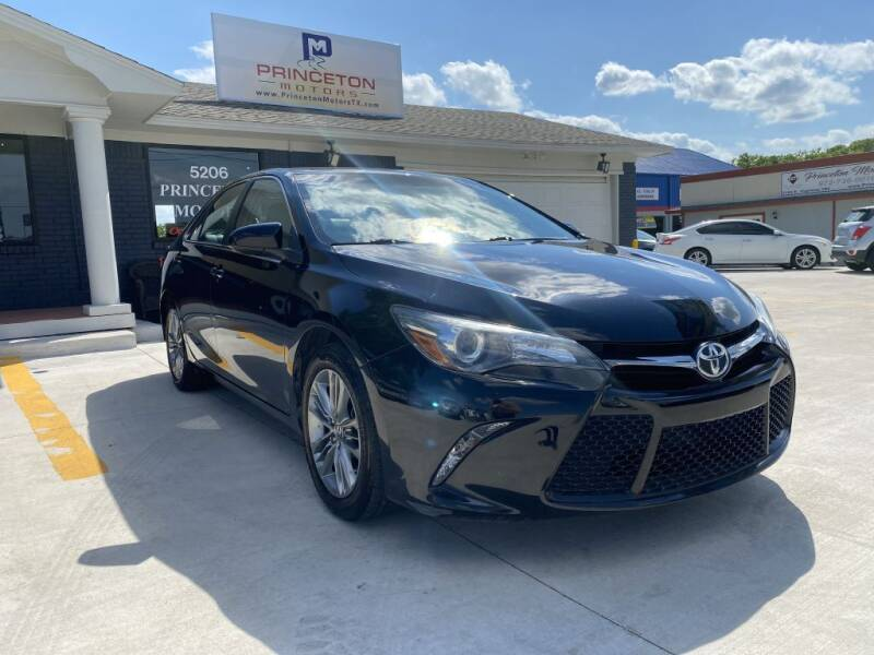 2015 Toyota Camry for sale at Princeton Motors in Princeton TX