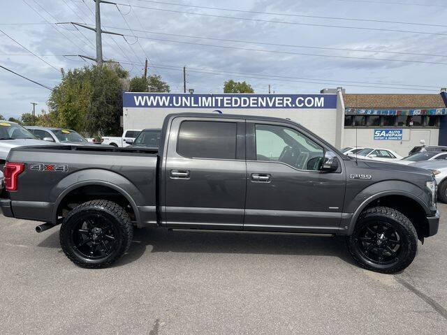 2015 Ford F-150 for sale at Unlimited Auto Sales in Denver CO