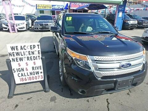 2013 Ford Explorer for sale at Cedano Auto Mall Inc in Bronx NY