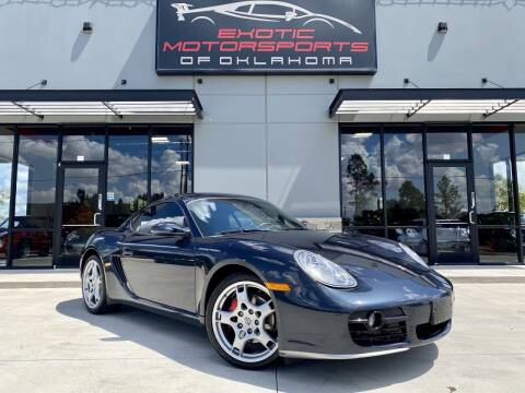 2006 Porsche Cayman for sale at Exotic Motorsports of Oklahoma in Edmond OK
