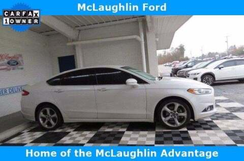 2016 Ford Fusion for sale at McLaughlin Ford in Sumter SC