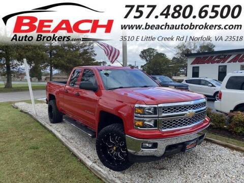 2014 Chevrolet Silverado 1500 for sale at Beach Auto Brokers in Norfolk VA