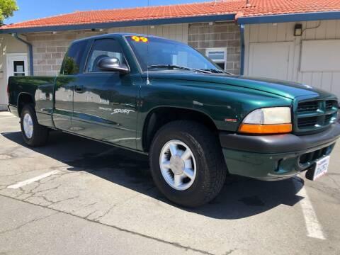 1999 Dodge Dakota for sale at Martinez Truck and Auto Sales in Martinez CA