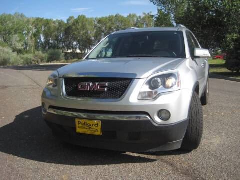 2012 GMC Acadia for sale at Pollard Brothers Motors in Montrose CO