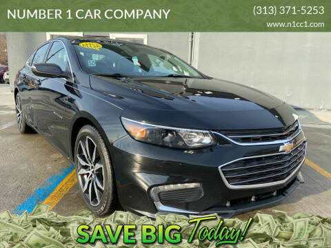 2016 Chevrolet Malibu for sale at NUMBER 1 CAR COMPANY in Detroit MI