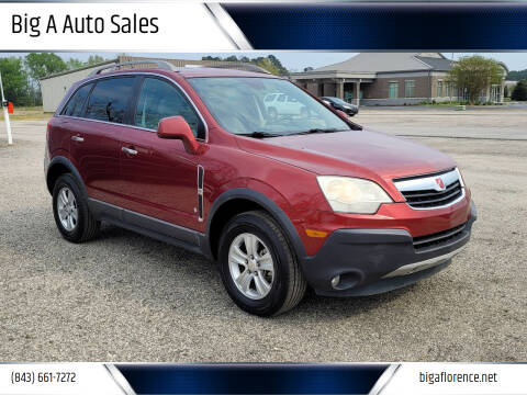 2008 Saturn Vue for sale at Big A Auto Sales Lot 2 in Florence SC