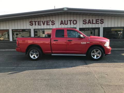 2013 RAM Ram Pickup 1500 for sale at STEVE'S AUTO SALES INC in Scottsbluff NE