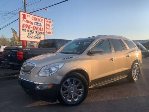 2010 Buick Enclave for sale at 1st Choice Auto Sales in Newport News VA