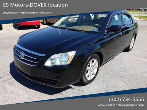 2005 Toyota Avalon for sale at ES Motors-DAGSBORO location - Dover in Dover DE