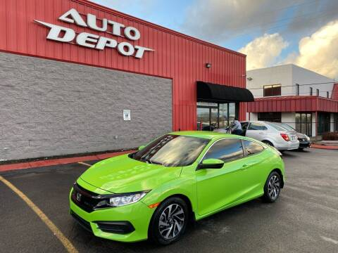 2016 Honda Civic for sale at Auto Depot of Madison in Madison TN