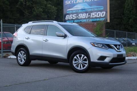 2014 Nissan Rogue for sale at Skyline Motors in Louisville TN