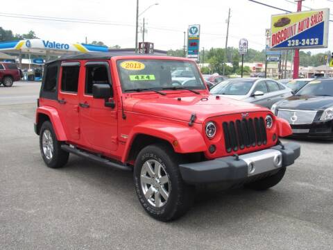 2013 Jeep Wrangler Unlimited for sale at Discount Auto Sales in Pell City AL