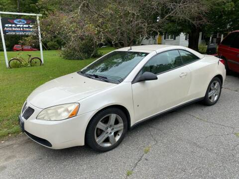 2009 Pontiac G6 for sale at Olney Auto Sales in Springfield VT