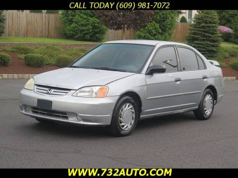 2001 Honda Civic for sale at Absolute Auto Solutions in Hamilton NJ