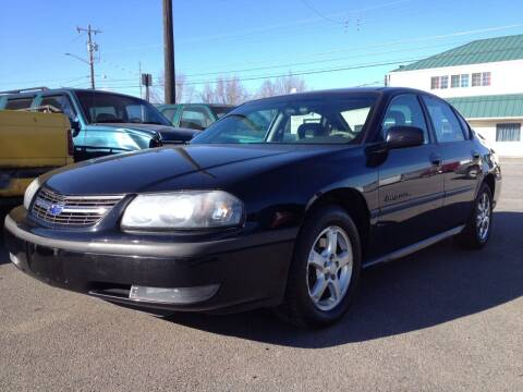 2003 Chevrolet Impala for sale at TTT Auto Sales in Spokane WA