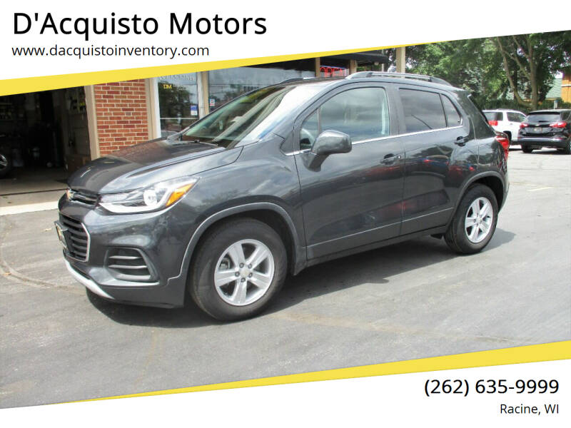 2017 Chevrolet Trax for sale at D'Acquisto Motors in Racine WI