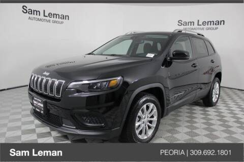 2021 Jeep Cherokee for sale at Sam Leman Chrysler Jeep Dodge of Peoria in Peoria IL