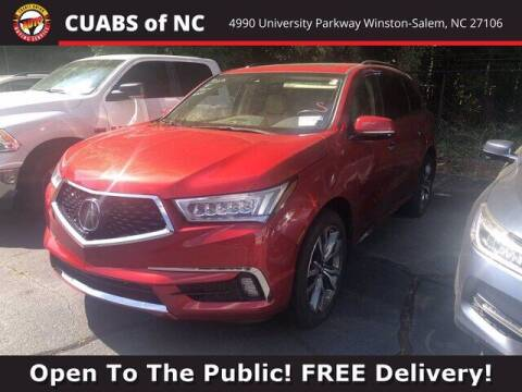 2019 Acura MDX for sale at Credit Union Auto Buying Service in Winston Salem NC