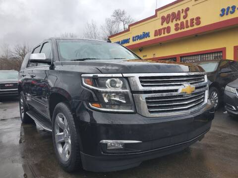 2016 Chevrolet Tahoe for sale at Popas Auto Sales in Detroit MI
