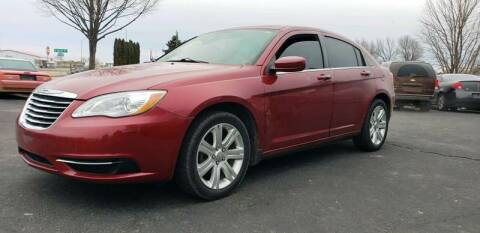 2012 Chrysler 200 for sale at Geareys Auto Sales of Sioux Falls, LLC in Sioux Falls SD