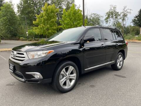 2012 Toyota Highlander for sale at CAR MASTER PROS AUTO SALES in Lynnwood WA