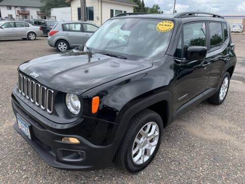 2017 Jeep Renegade for sale at CHRISTIAN AUTO SALES in Anoka MN