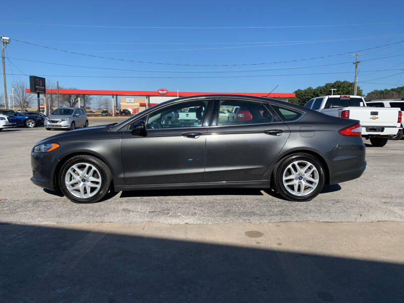 2015 Ford Fusion for sale at Smooth Solutions 2 LLC in Springdale AR