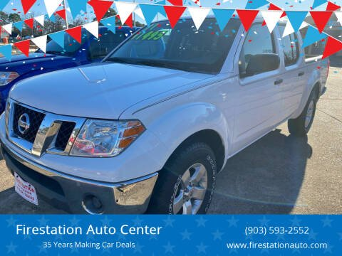 2011 Nissan Frontier for sale at Firestation Auto Center in Tyler TX