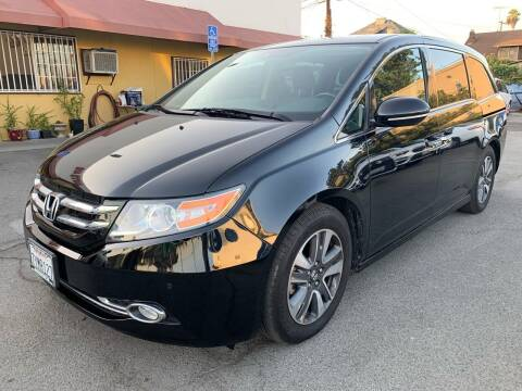 2017 Honda Odyssey for sale at Auto Ave in Los Angeles CA