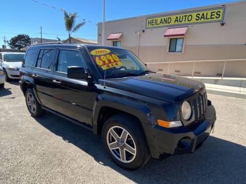 2008 Jeep Patriot for sale at HEILAND AUTO SALES in Oceano CA