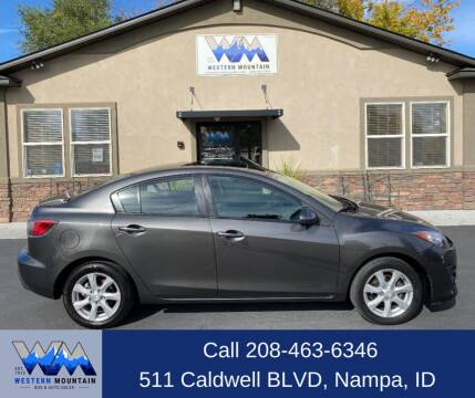 2011 Mazda MAZDA3 for sale at Western Mountain Bus & Auto Sales in Nampa ID