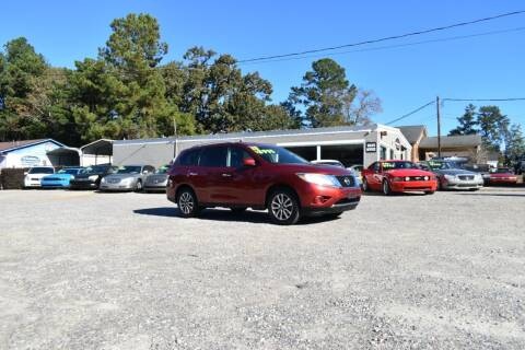 2013 Nissan Pathfinder for sale at Barrett Auto Sales in North Augusta SC
