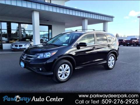 2013 Honda CR-V for sale at PARKWAY AUTO CENTER AND RV in Deer Park WA