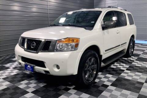 2013 Nissan Armada for sale at TRUST AUTO in Sykesville MD