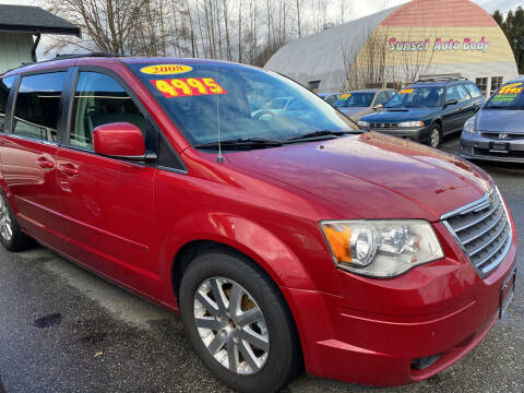 2008 Chrysler Town and Country for sale at Low Auto Sales in Sedro Woolley WA