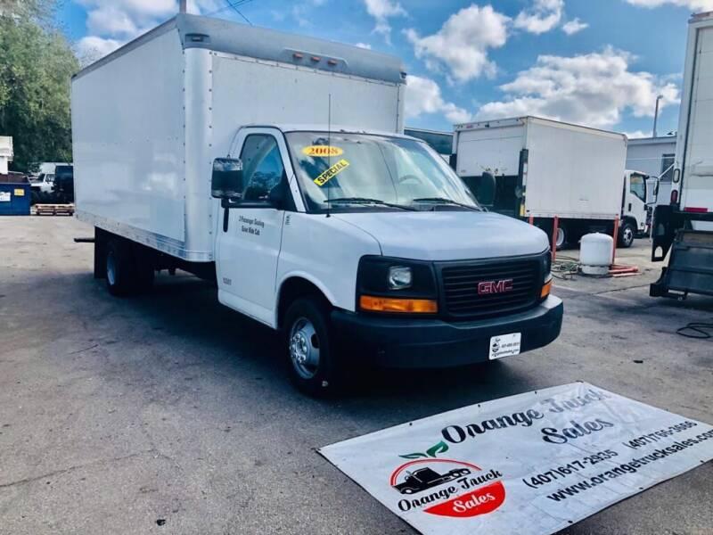 2008 GMC Savana Cutaway for sale at Orange Truck Sales in Orlando FL