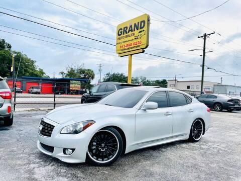 2012 Infiniti M37 for sale at Grand Auto Sales in Tampa FL