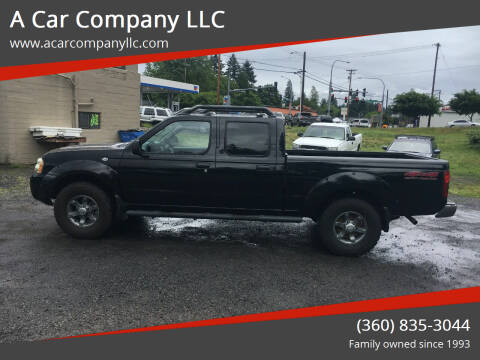 2004 Nissan Frontier for sale at A Car Company LLC in Washougal WA