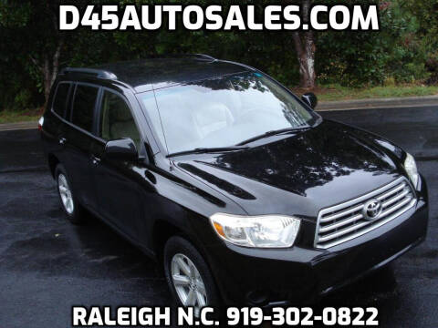 2008 Toyota Highlander for sale at D45 Auto Brokers in Raleigh NC