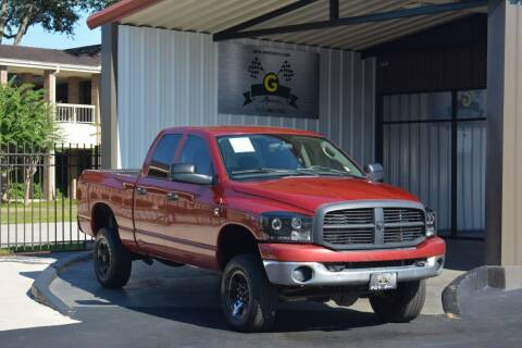 2007 Dodge Ram Pickup 2500 for sale at G MOTORS in Houston TX