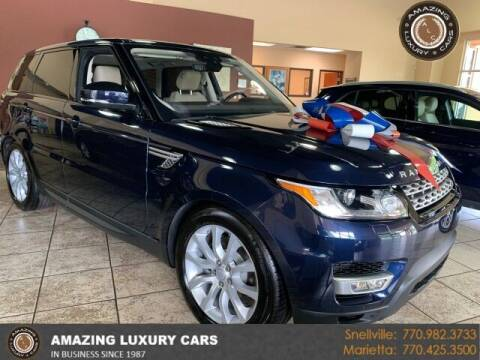 2017 Land Rover Range Rover Sport for sale at Amazing Luxury Cars in Snellville GA