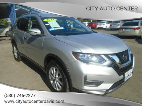 2018 Nissan Rogue for sale at City Auto Center in Davis CA