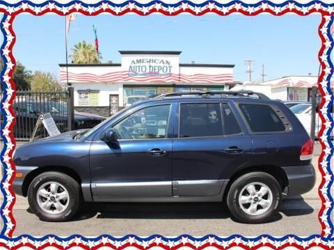 2005 Hyundai Santa Fe for sale at American Auto Depot in Modesto CA