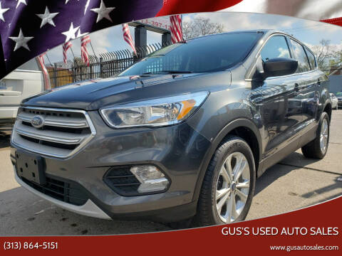 2019 Ford Escape for sale at Gus's Used Auto Sales in Detroit MI