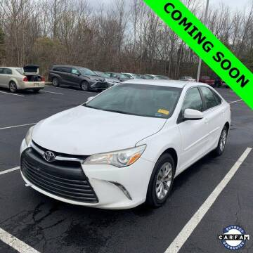 2015 Toyota Camry for sale at LAKESIDE MOTORS, INC. in Sachse TX