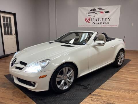2009 Mercedes-Benz SLK for sale at Quality Autos in Marietta GA